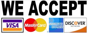 Airforce HVAC accepts Credit Cards